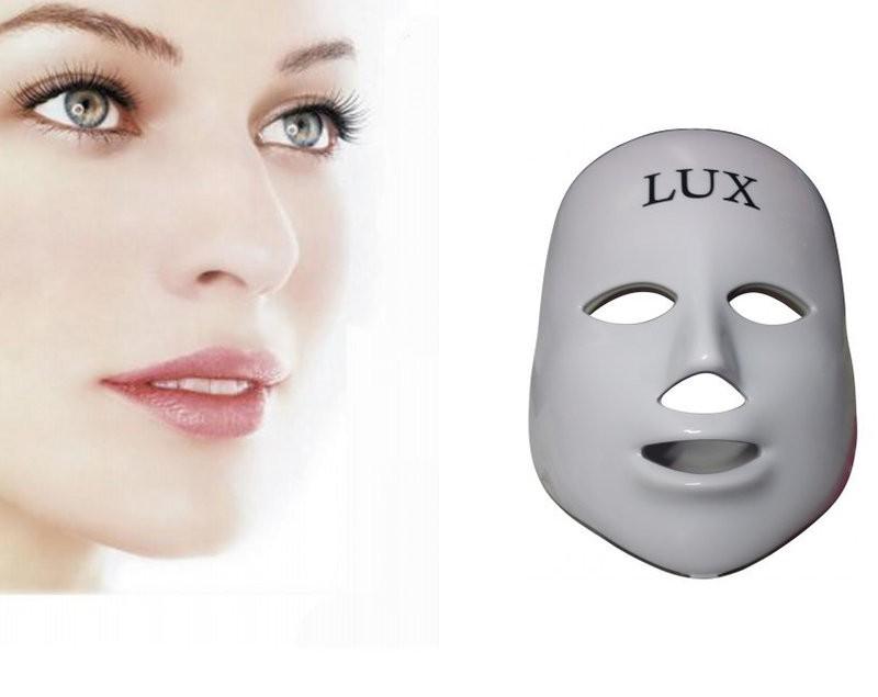 """Lux B"" Maske mit Led - Foto Therapie"