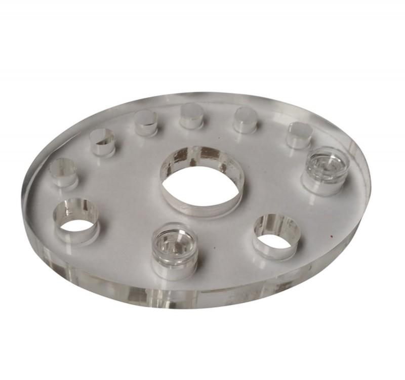Acrylhalter für Farbnäpfchen oval