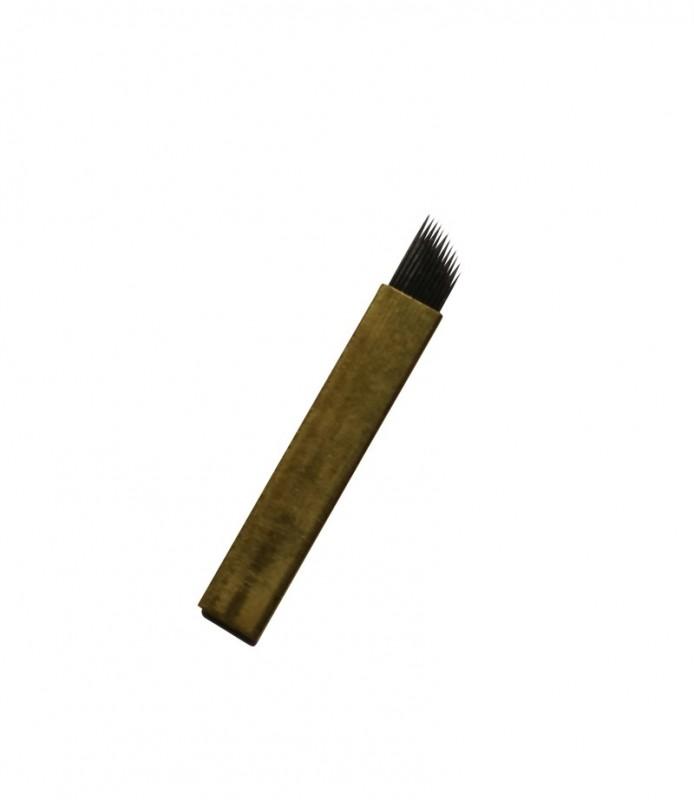 Nadeln - Blade 12 Gold Kurve