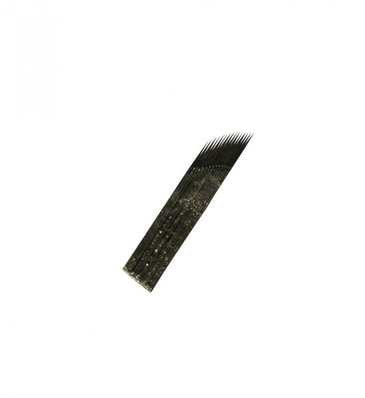 Nadeln - Blade 14- Silber Kurve