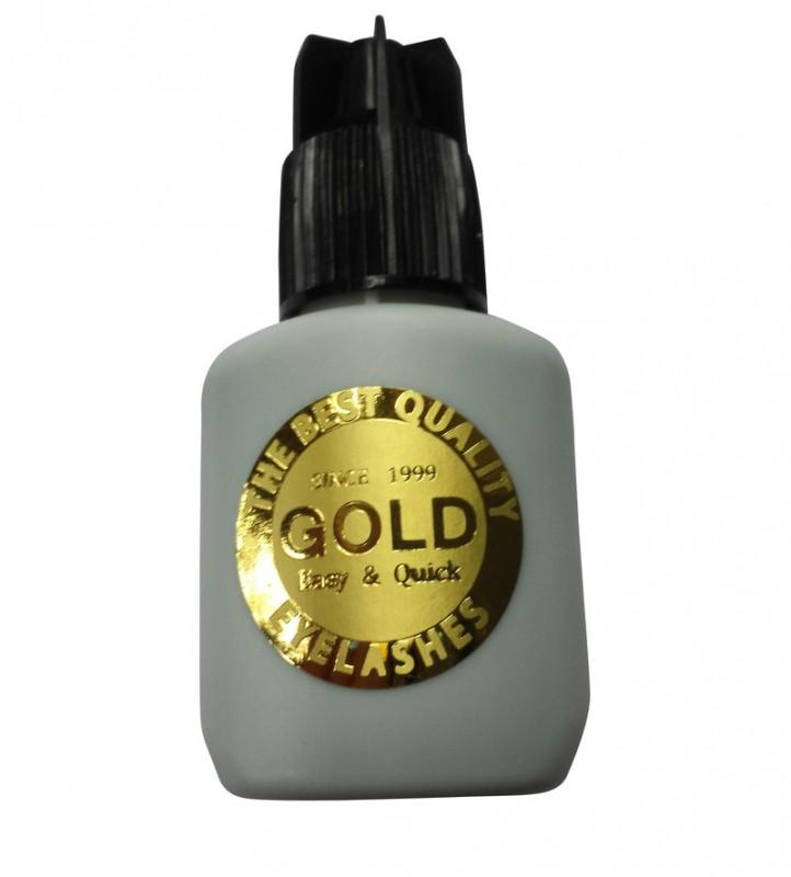 Premium Kleber Gold schwarz 10G schwarze Kappe