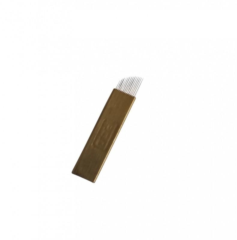 Nadeln - Blade 14- Gold Kurve